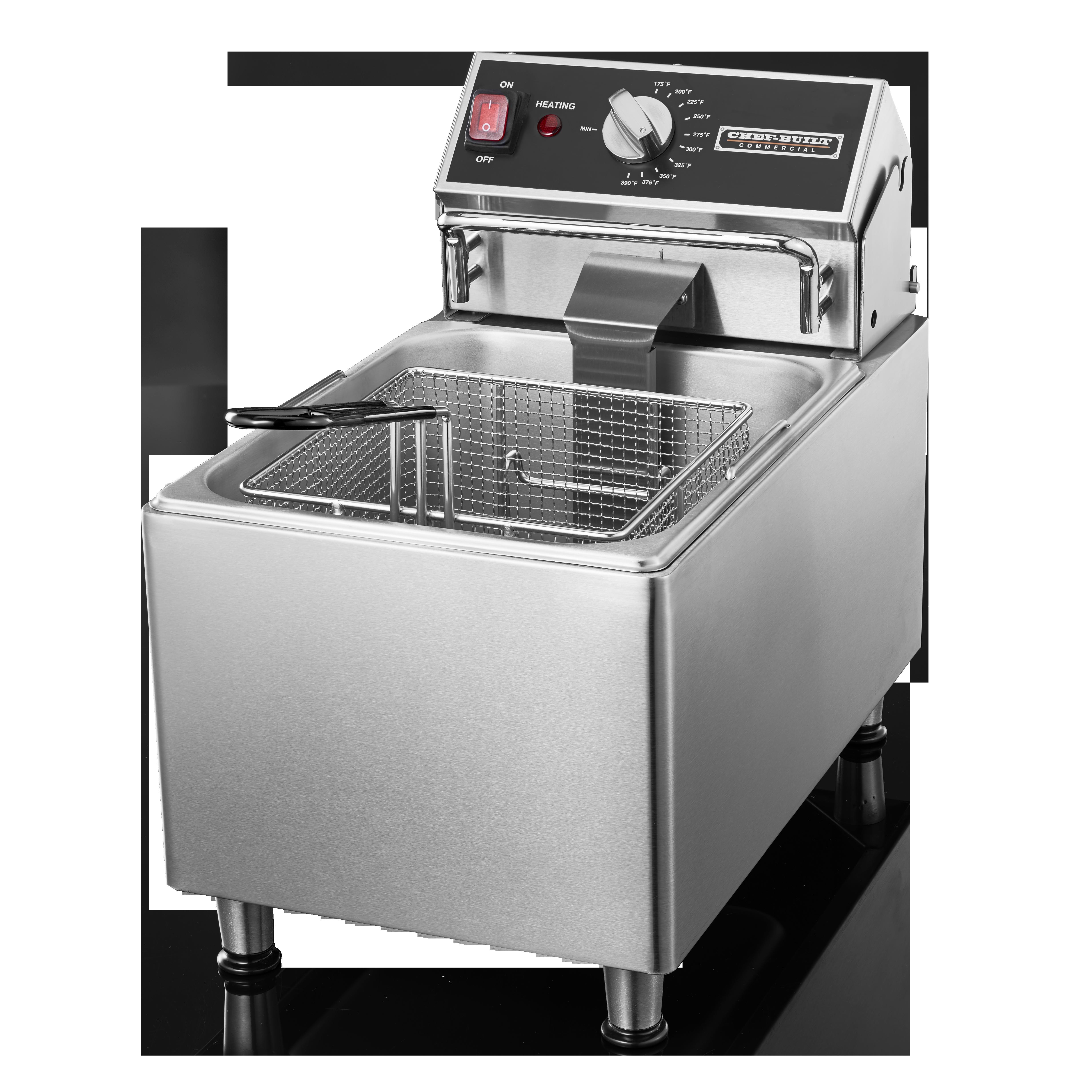 CHEF-BUILT 15lb Deep Fryer CF-15 | Chef-Built